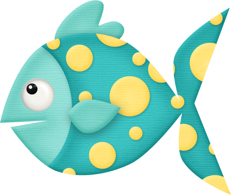 Clipart fish teal.  ocean safari c