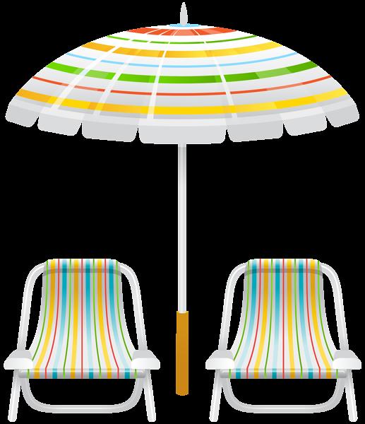 Feet clipart beach. Umbrella and two chairs