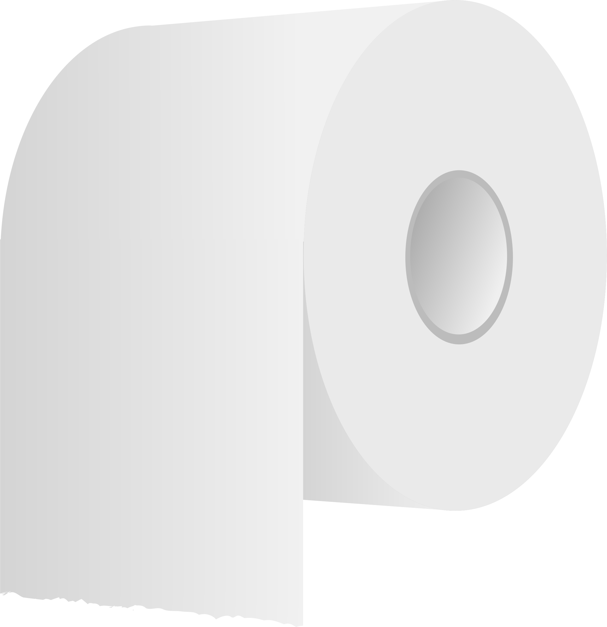 Clipart toilet toilet paper. White roll big image