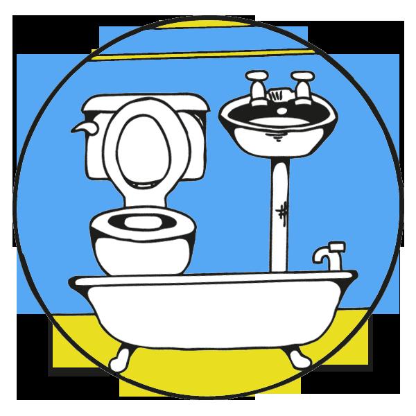 Tubby diy bathroom renovation. Mug clipart bath