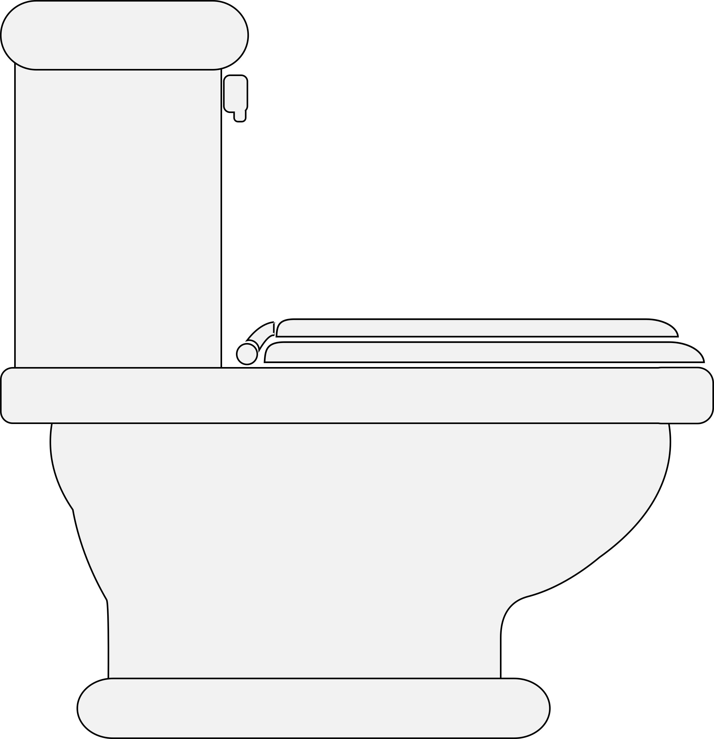 Toilet seat closed big. Lady clipart plumber