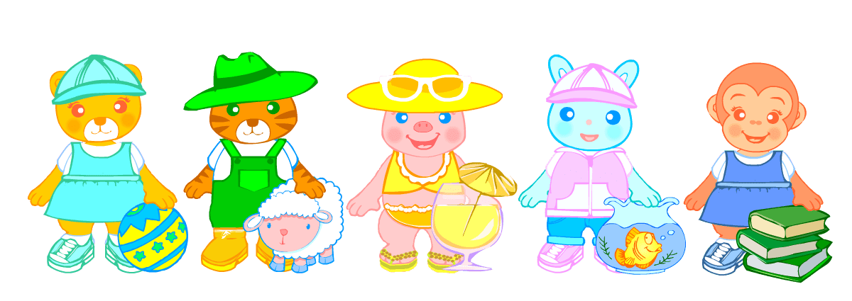 English for kids list. Exercise clipart student exercise
