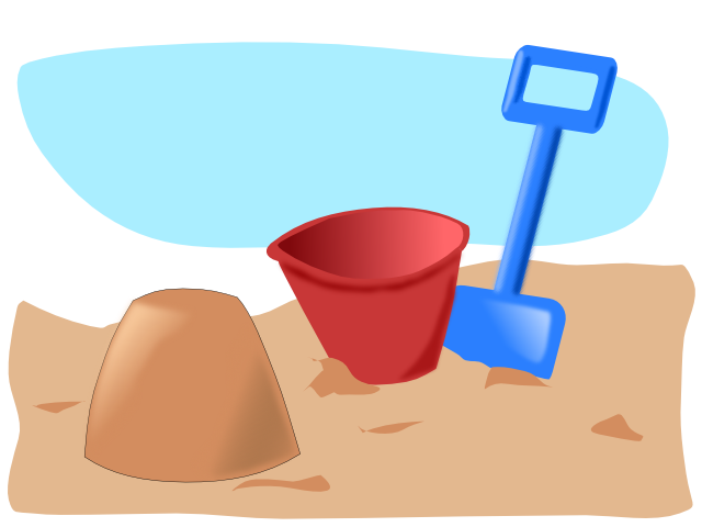 Free graphics of summer. Clipart beach