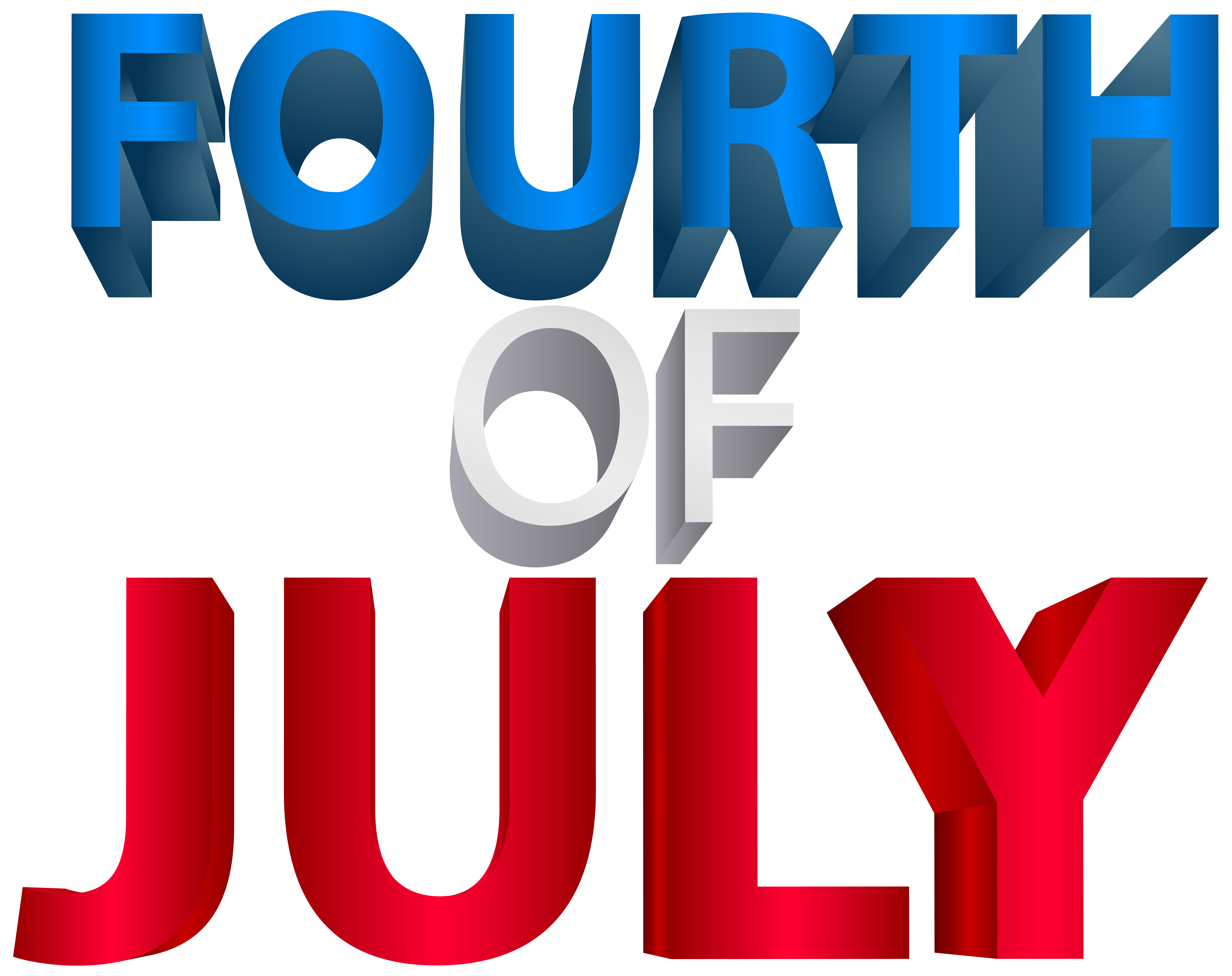 Fourth of transparent png. Clipart bow 4th july