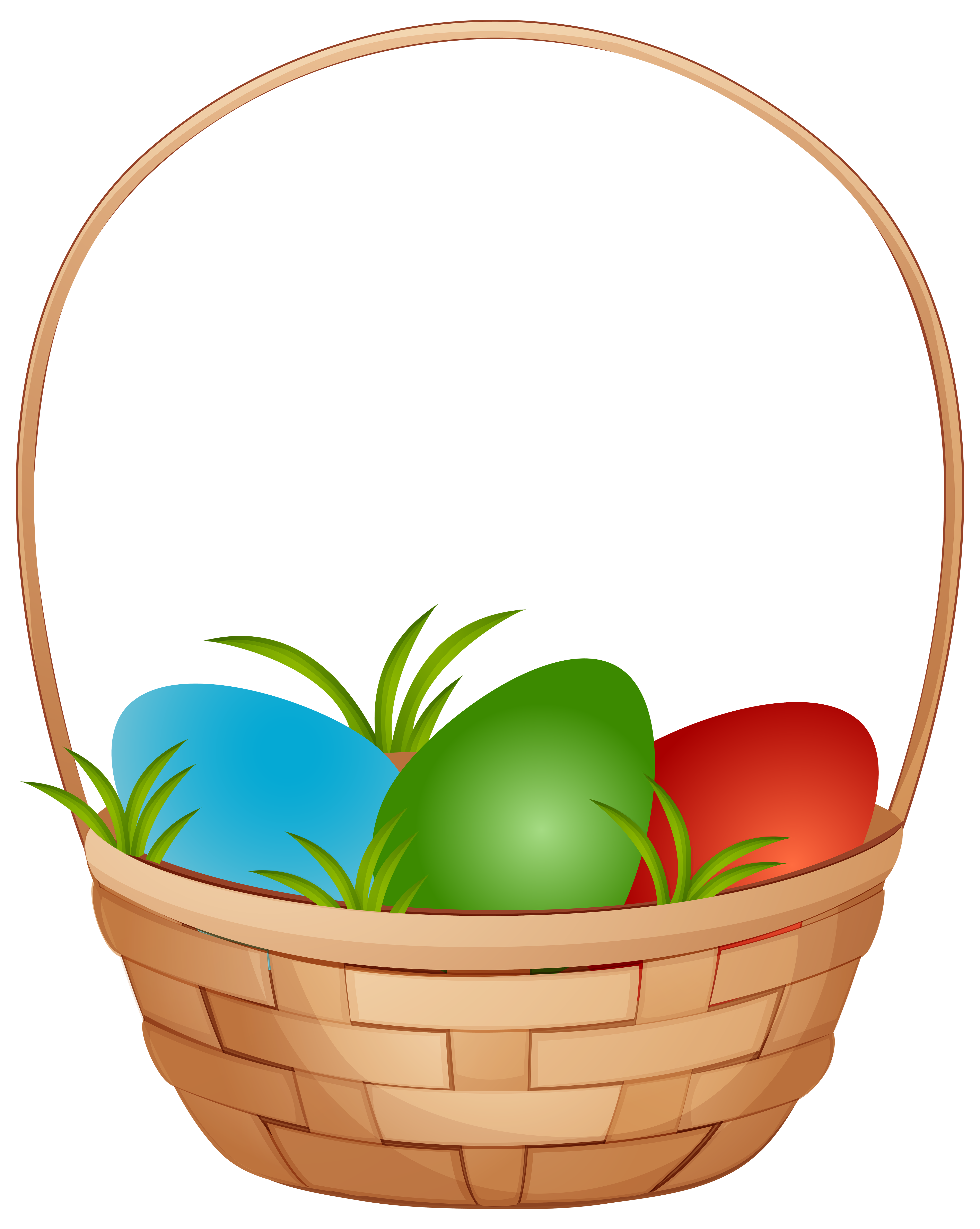 Water clipart basket. Easter with eggs png