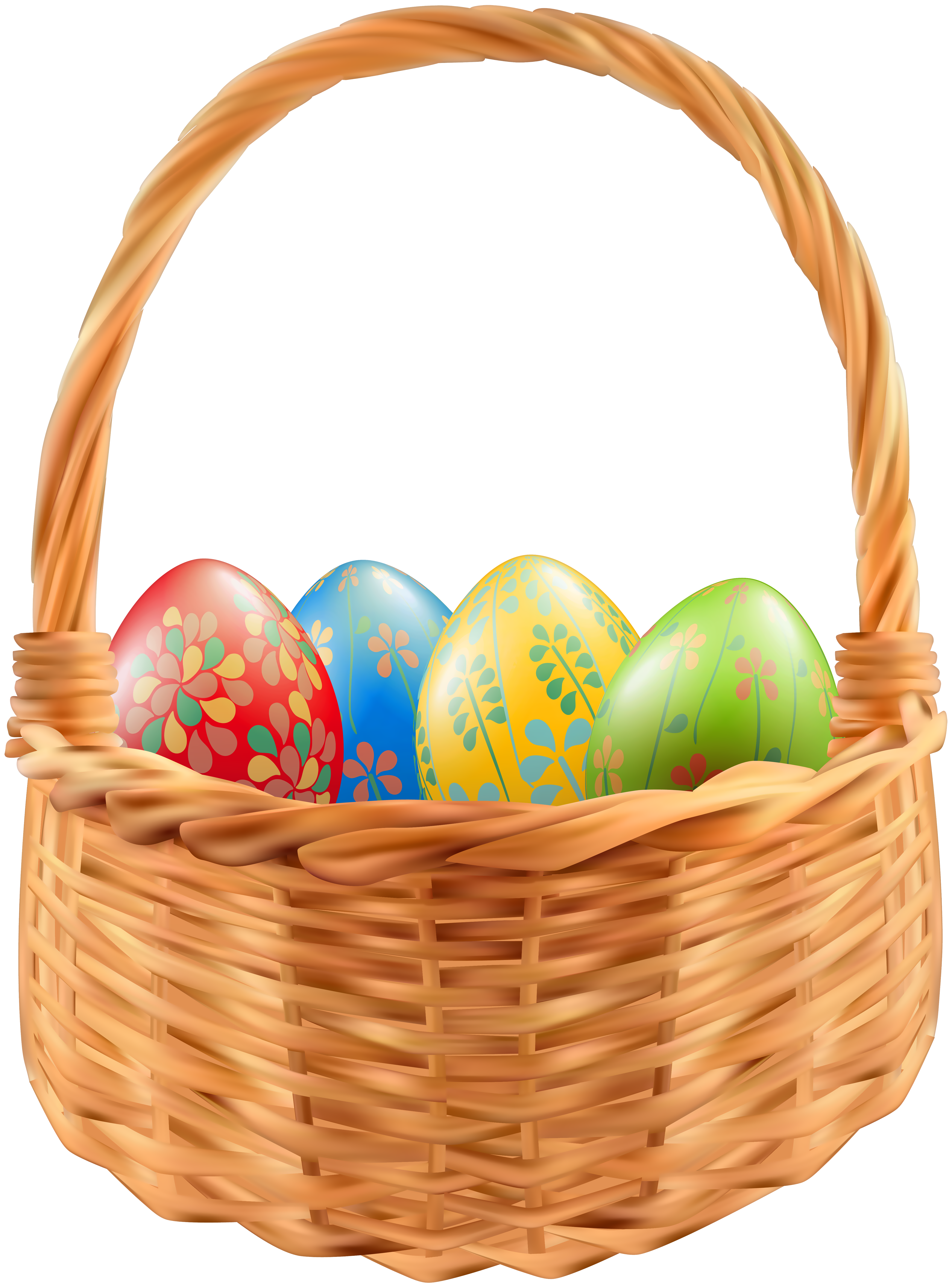 Easter png clip art. Water clipart basket