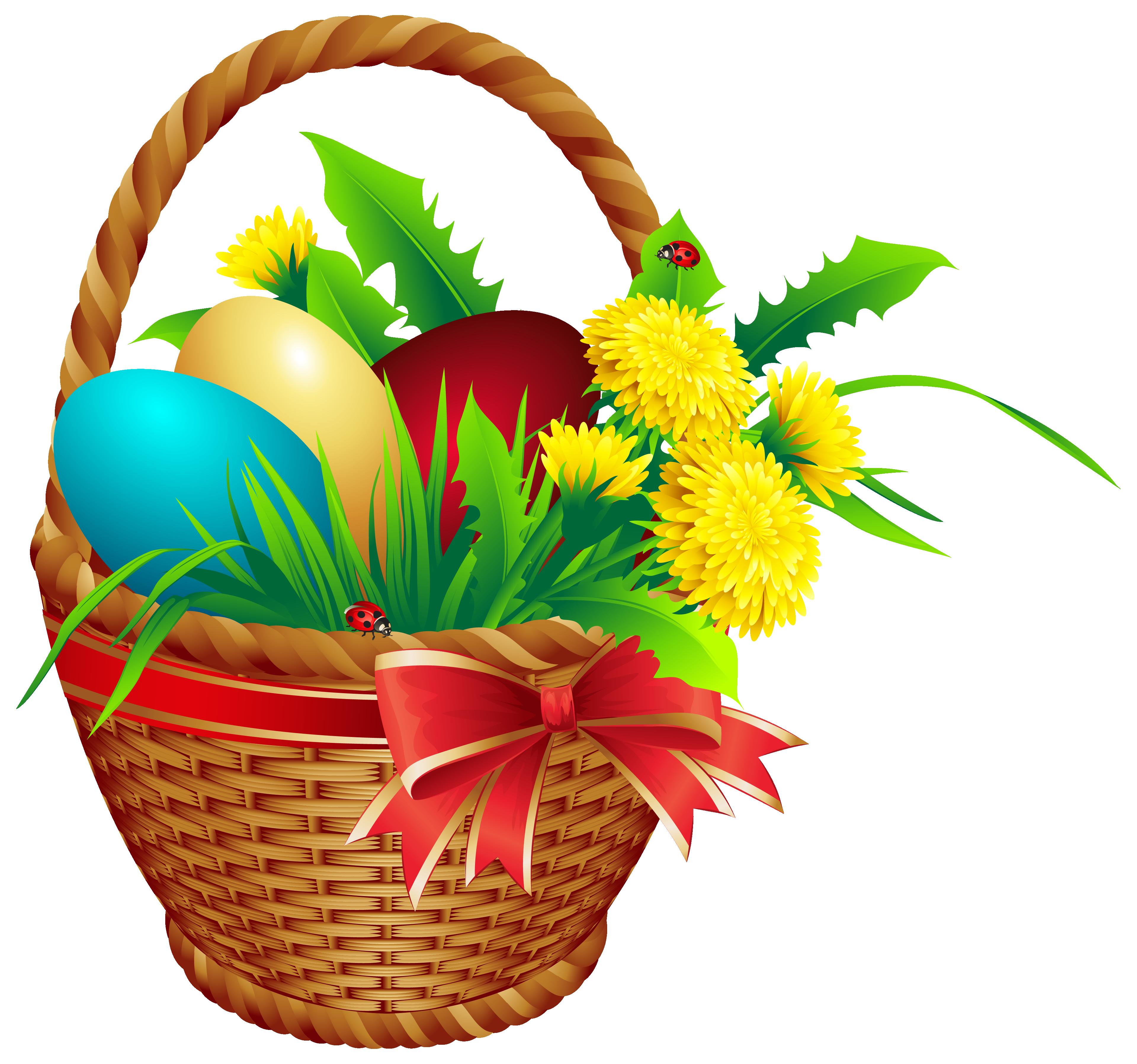 gift clipart full basket