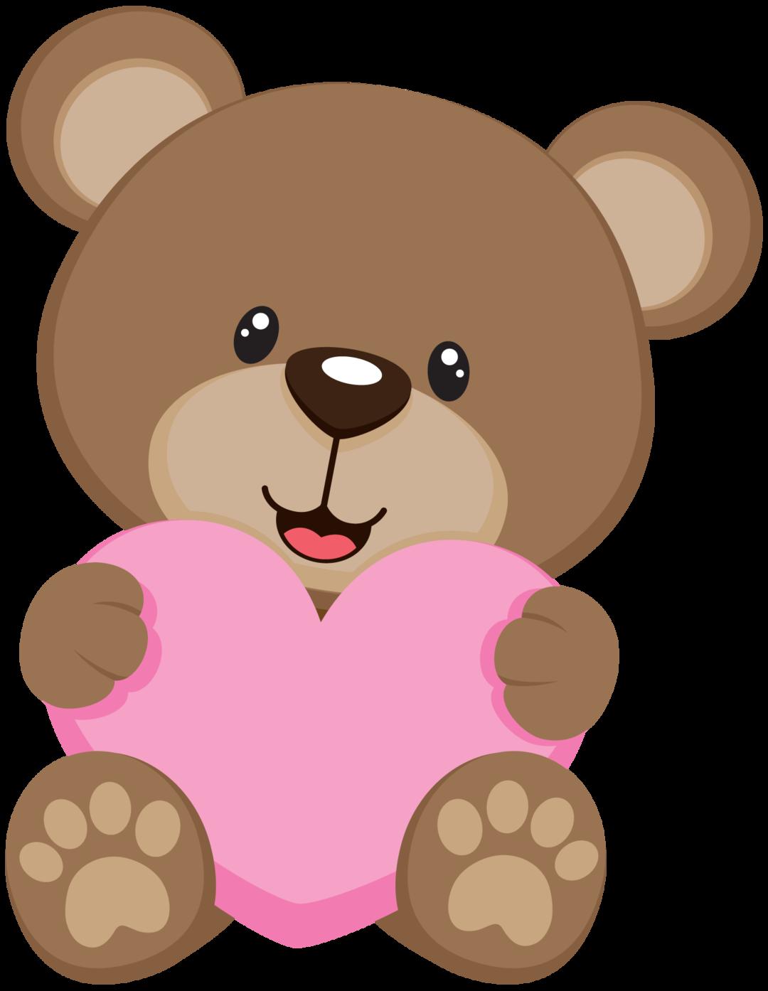 Osito coraz n baby. Clipart beach bear