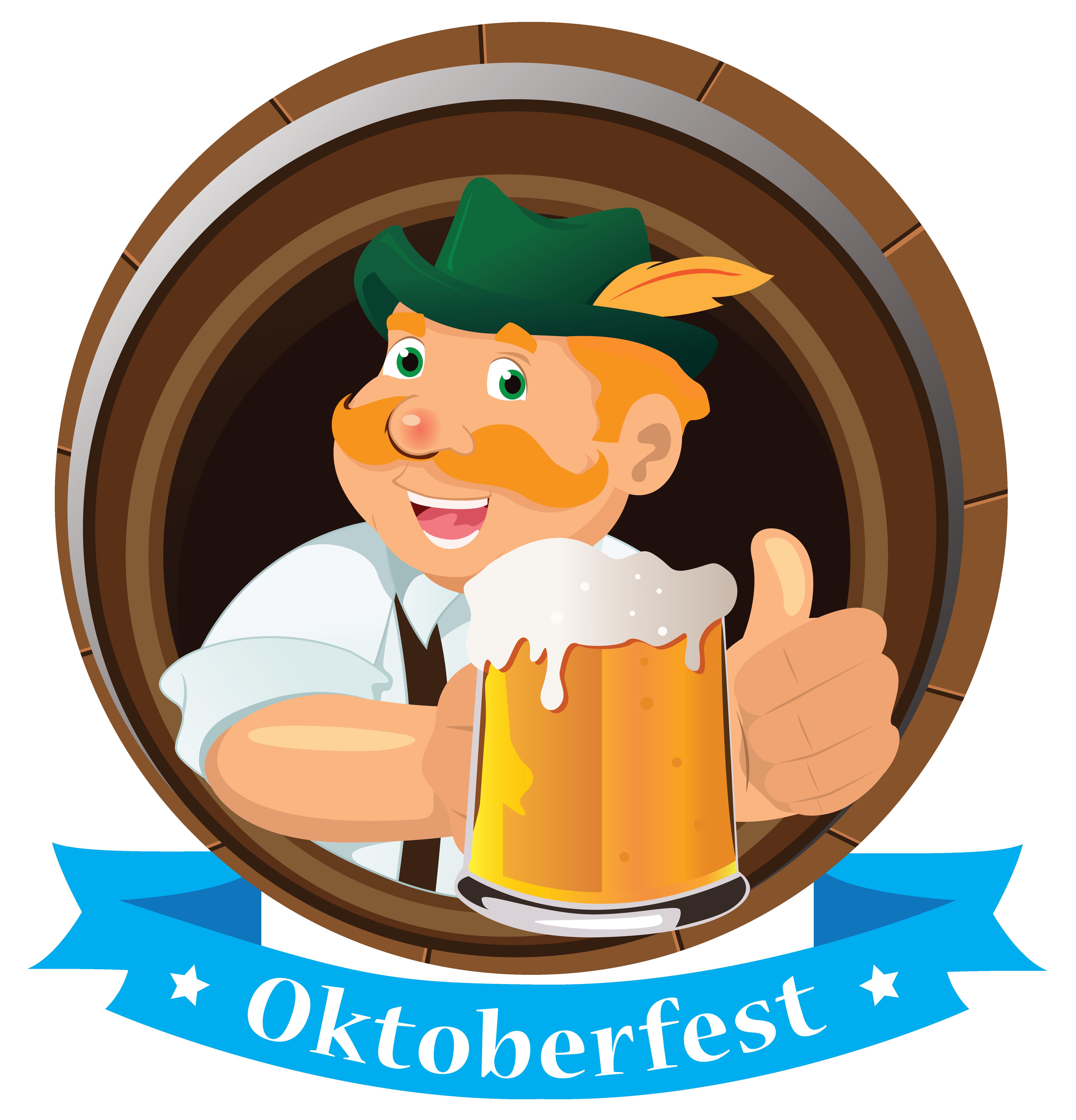 Oktoberfest decoration man with. Clipart beer beer oktoberf