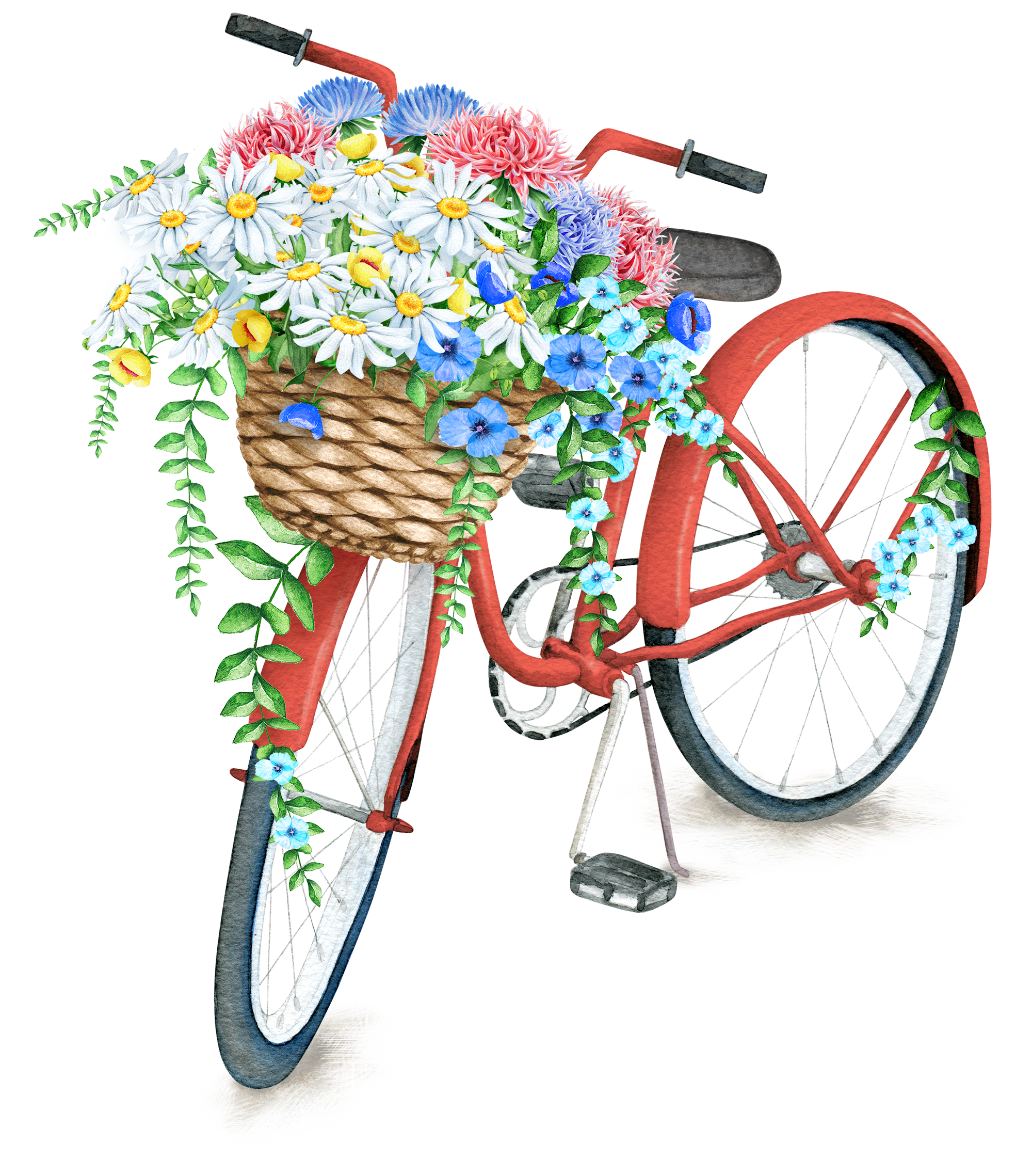 Pin by on pinterest. Clipart bicycle spring