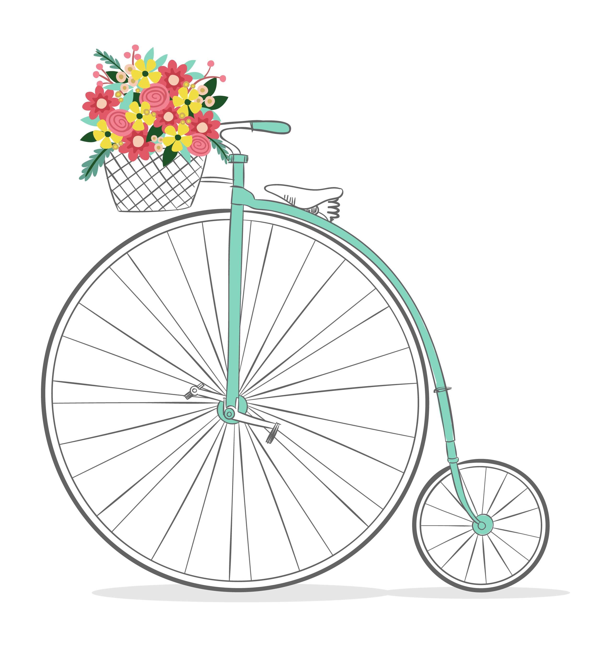 images about decoupage. Cycle clipart cute