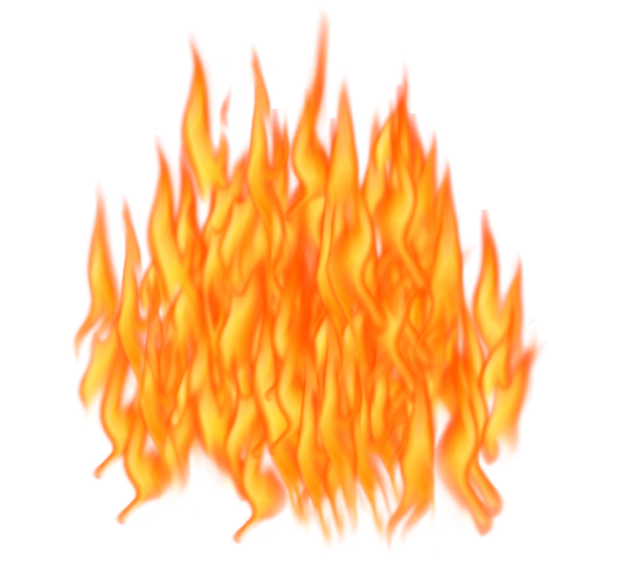 Clipart png fire. Six isolated stock photo