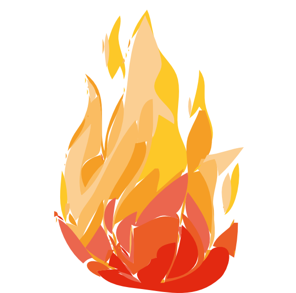 fireplace clipart cartoon
