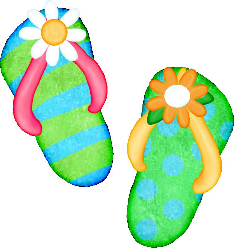 Hawaiian clipart summer. Freeclip art flip flop