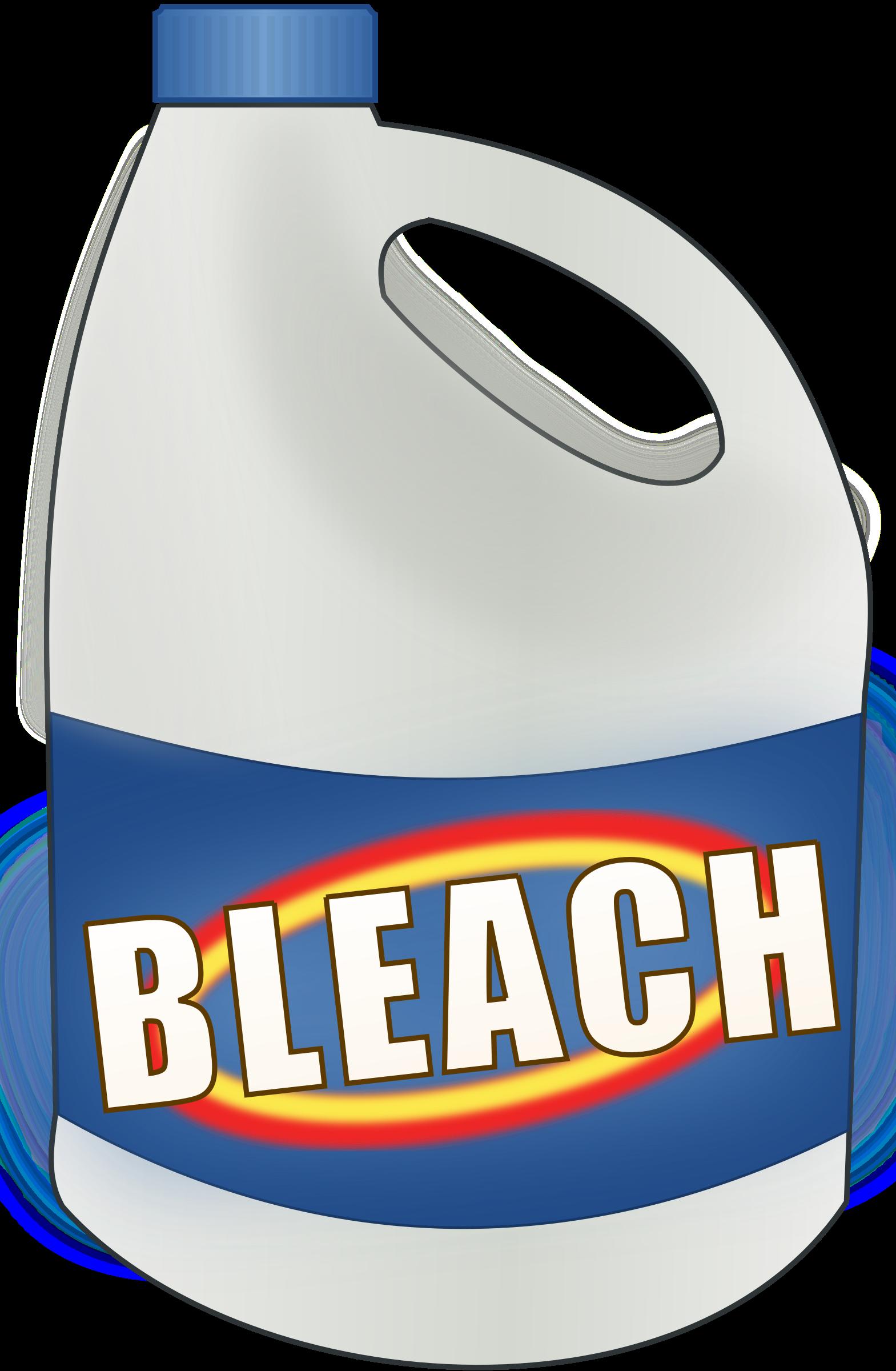Clipart big image. Bleach bottle png