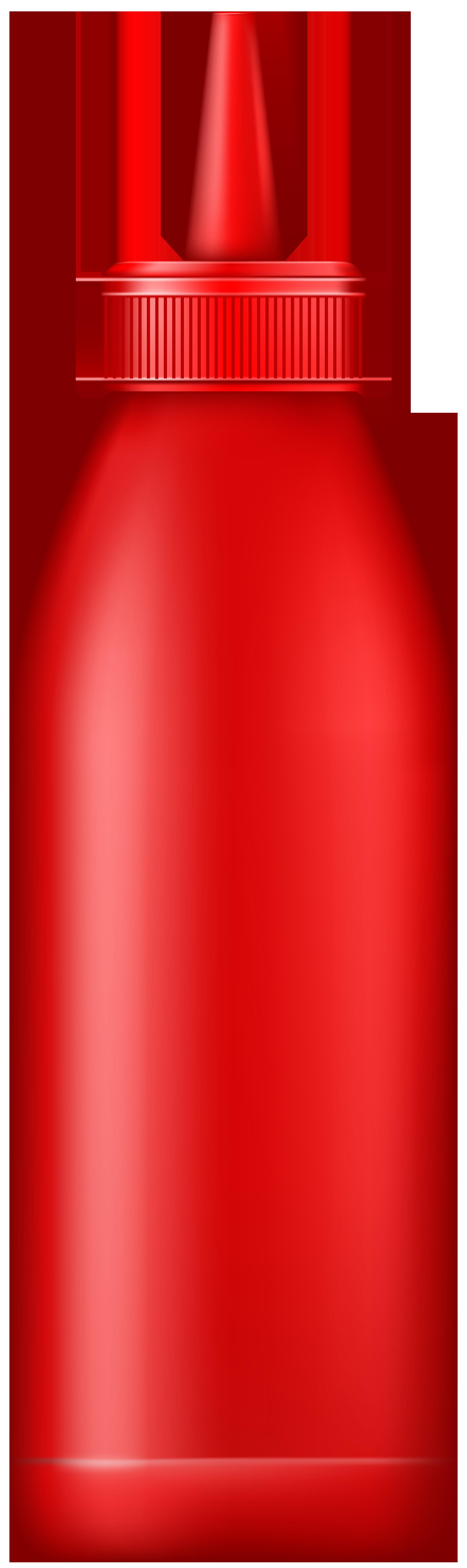 Kids clipart water bottle. Ketchup png clip art