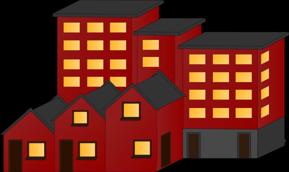 L clipart building. Public domain clip art