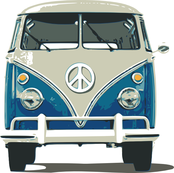 Vw clip art at. Minivan clipart mini bus