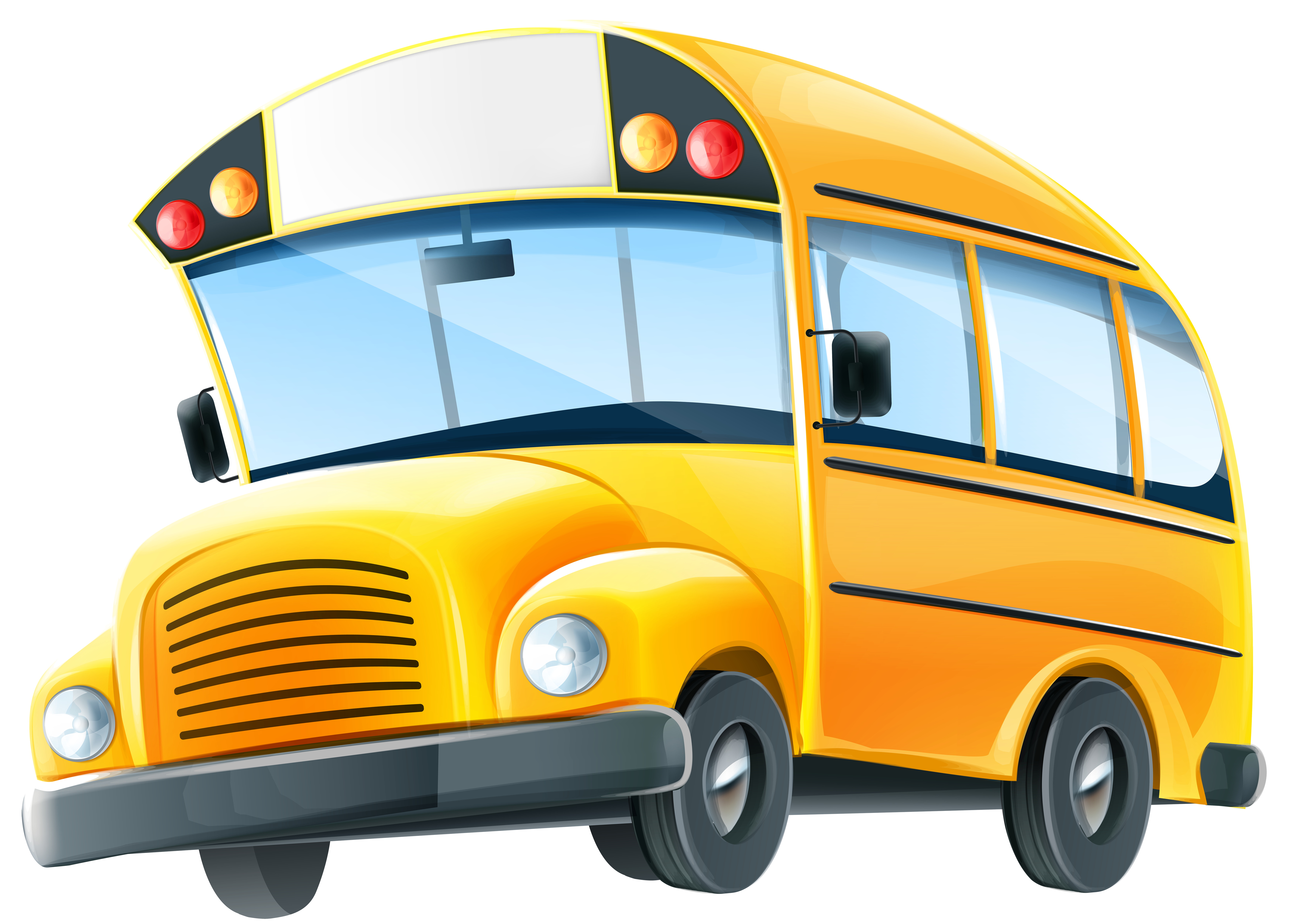 Clipart bus land transport. School png clip art