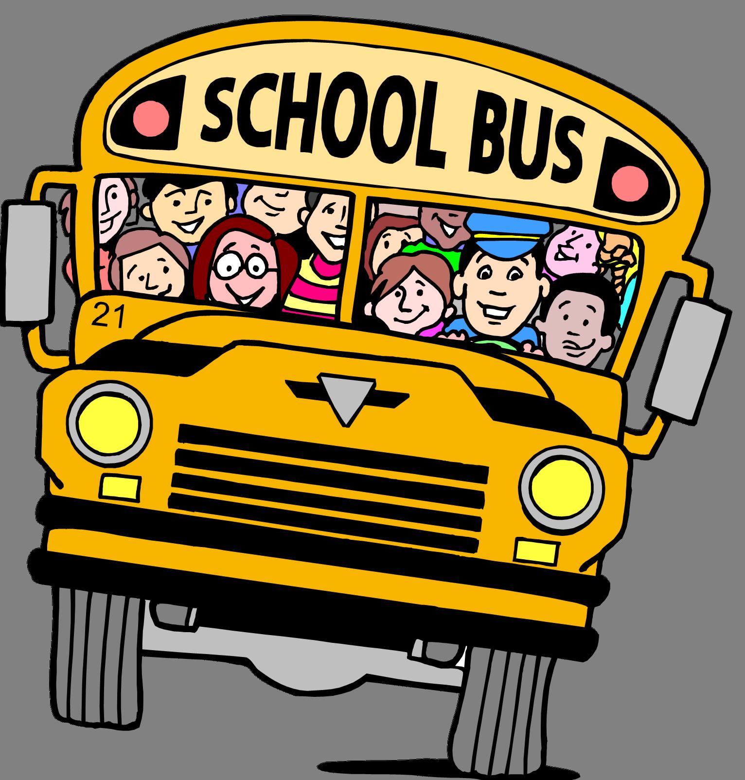 Schoolbus clip art school. Families clipart bus