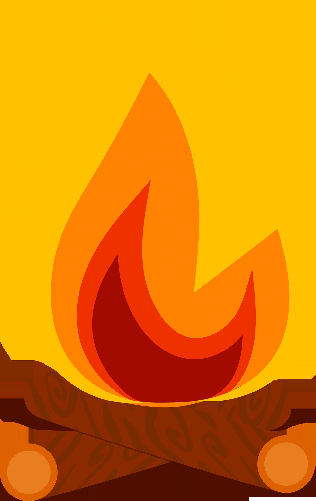 Clipart friends couch. Bonfire flame clip art