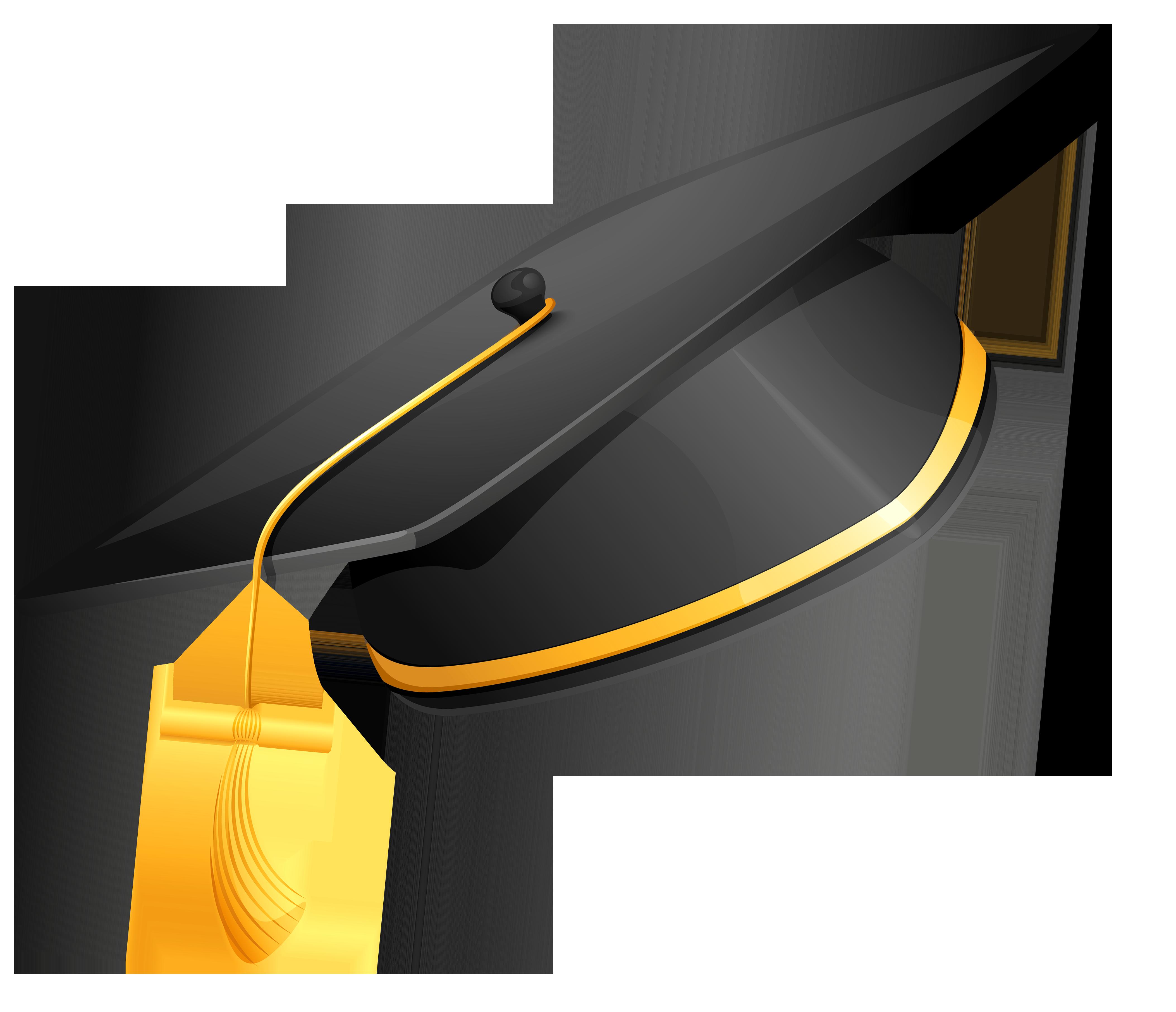 Graduation clipart vector. Cap png picture gallery