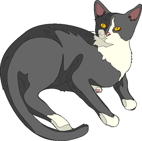 Clipart cat king. Clip art gatto vector