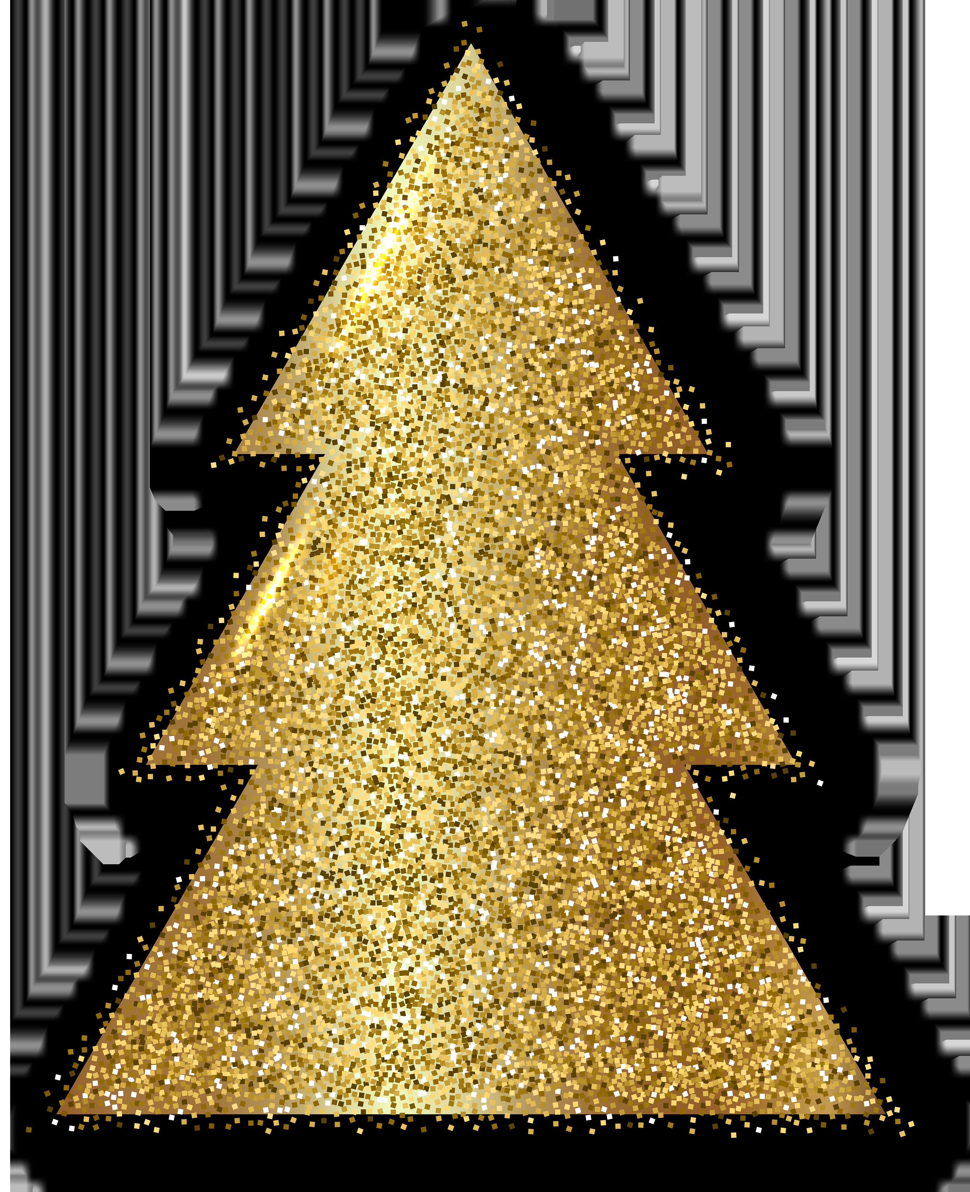 Gold clipart xmas. Christmas tree clip art