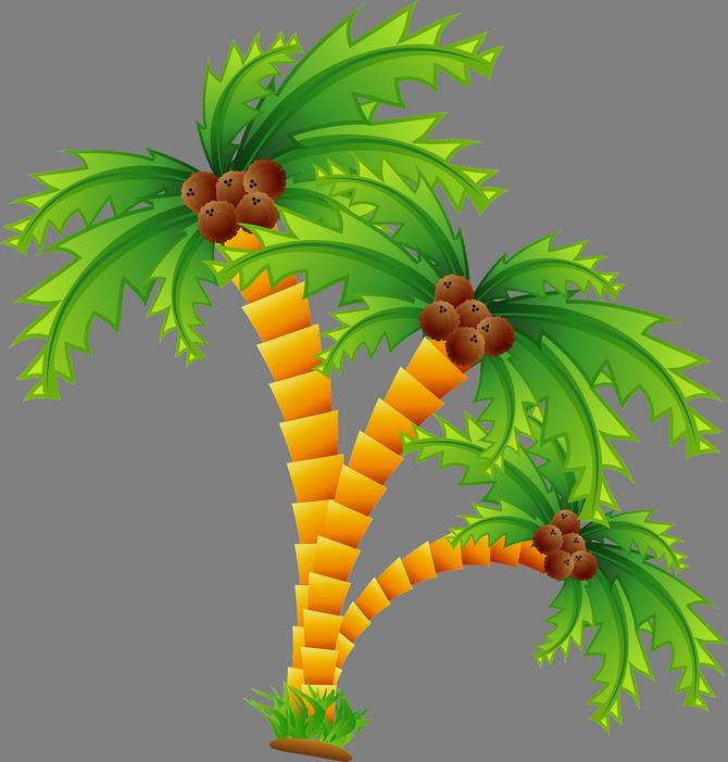 Desert clipart palm tree desert. Cartoon beach island clip