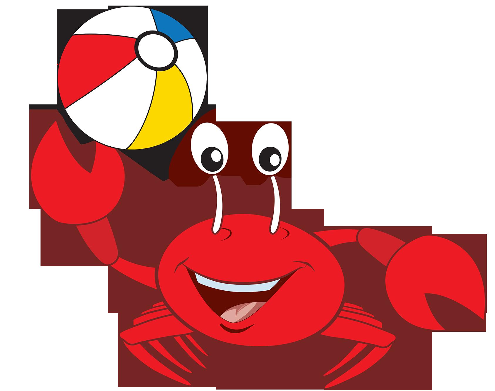 Clipart beach crab. Vbs vacation bible school