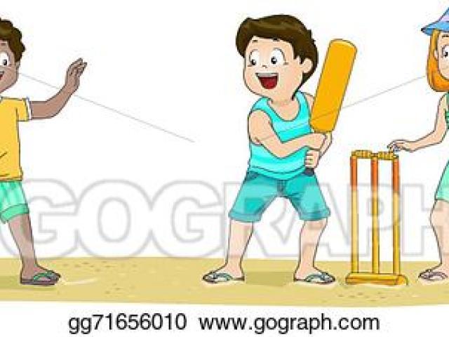 Clipart beach cricket. Free download clip art