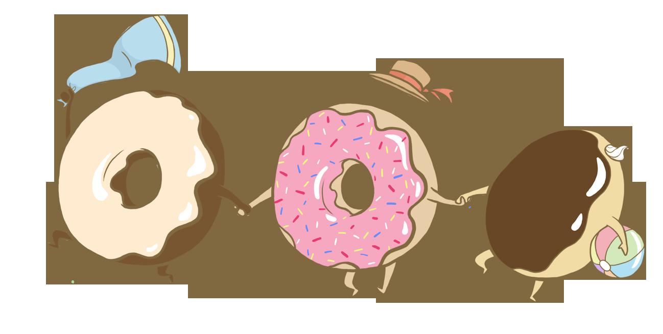 Summer time feel art. Donuts clipart donut tumblr