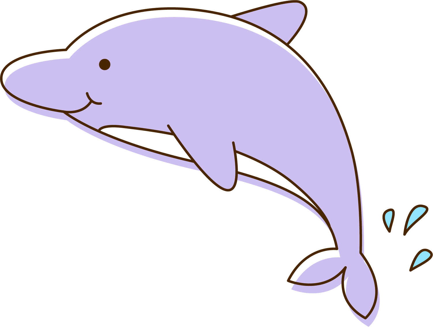 Bottlenose at getdrawings com. Clipart dolphin friendly dolphin