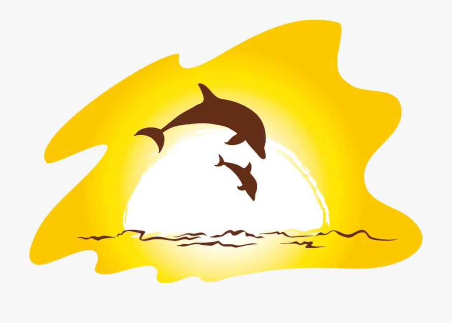 Clip art transprent png. Clipart dolphin beach