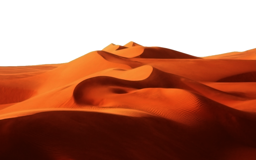 collection of sand. Clipart mountains desert