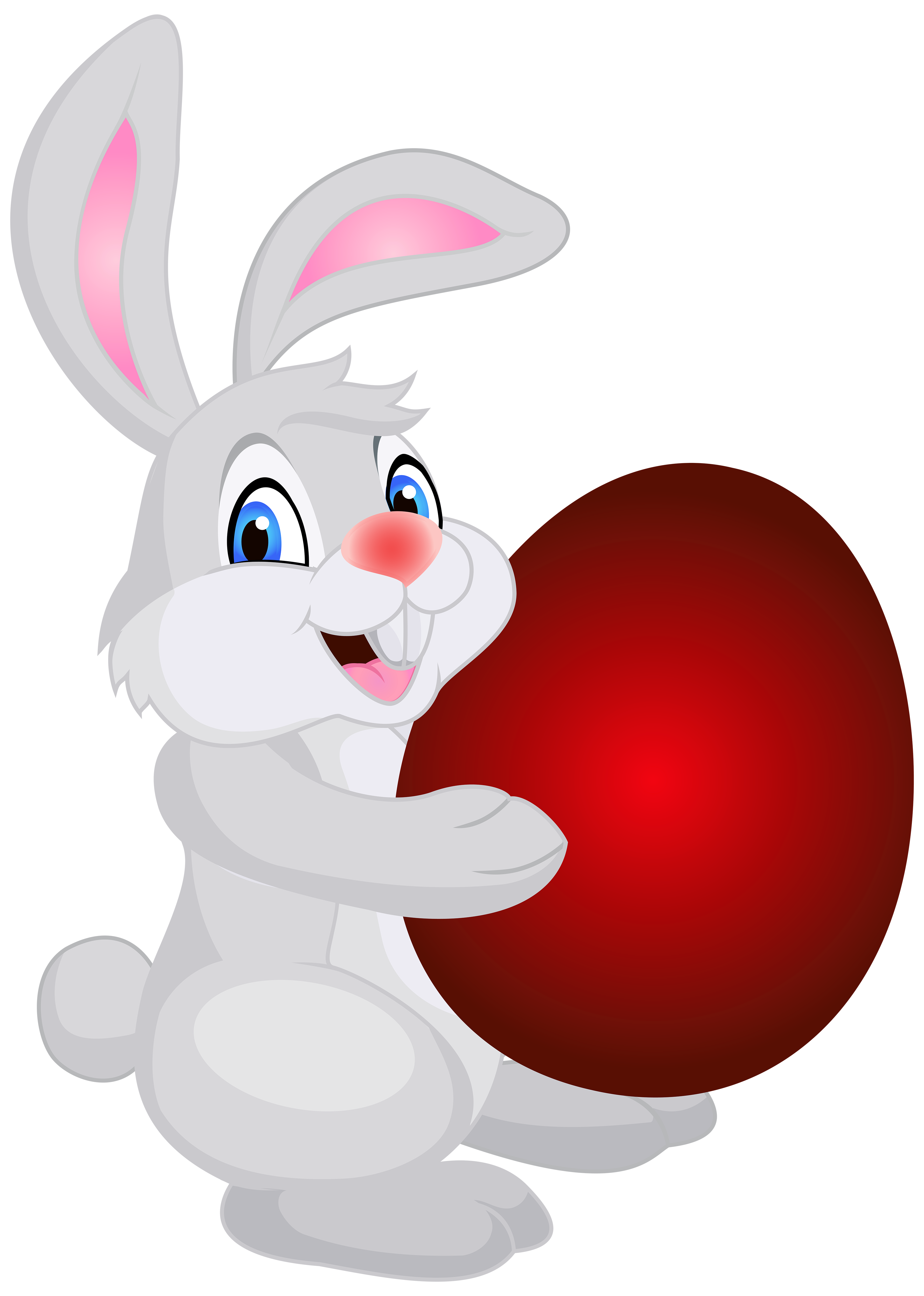 Clipart bunny valentine. With easter egg png