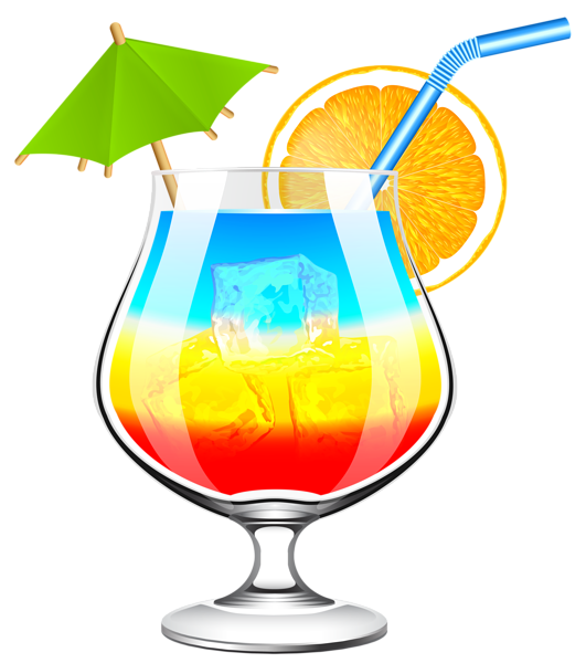 Hawaii clipart beach camp. Summer cocktail transparent png