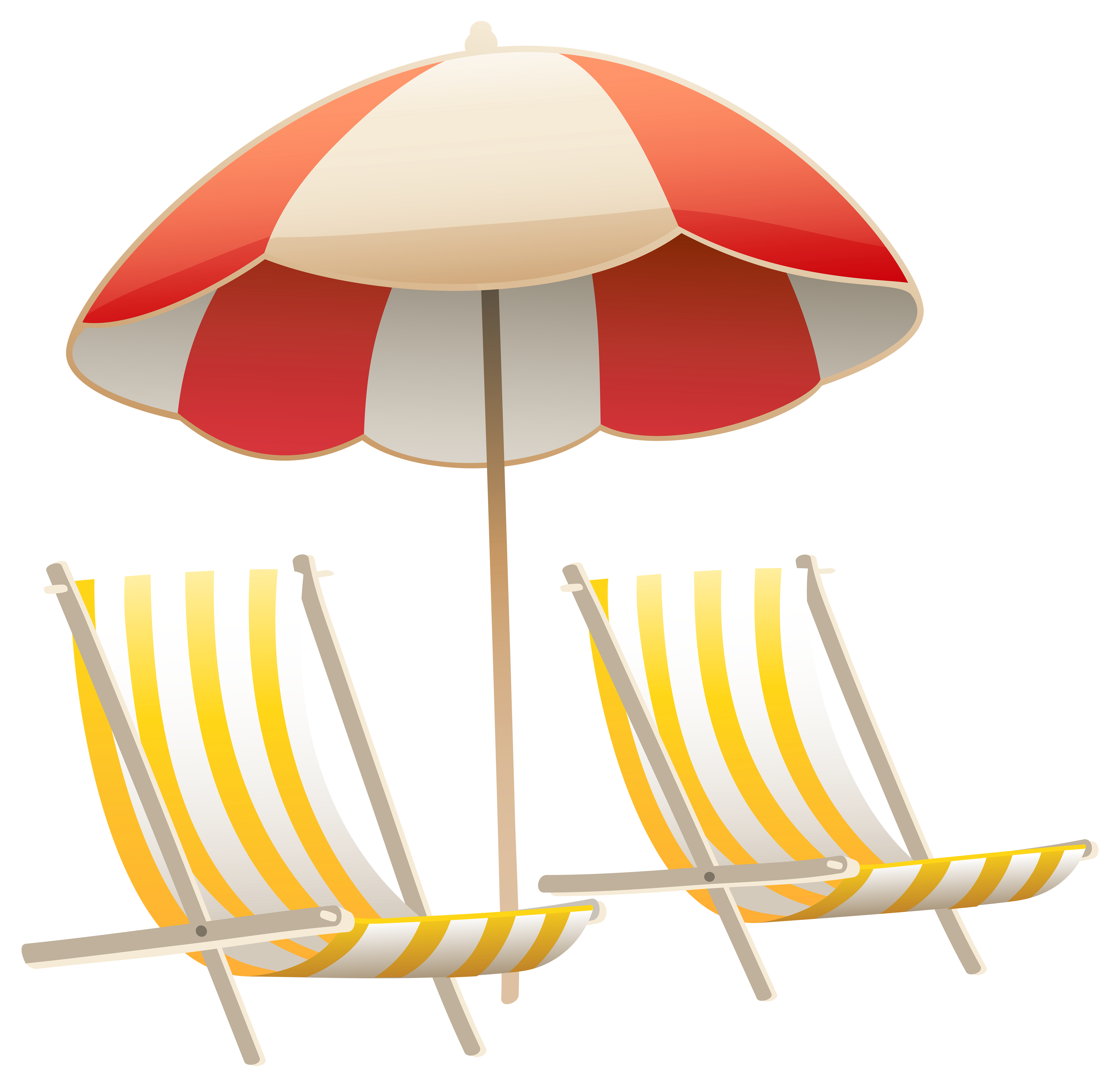 collection of beach. Clipart volleyball chair