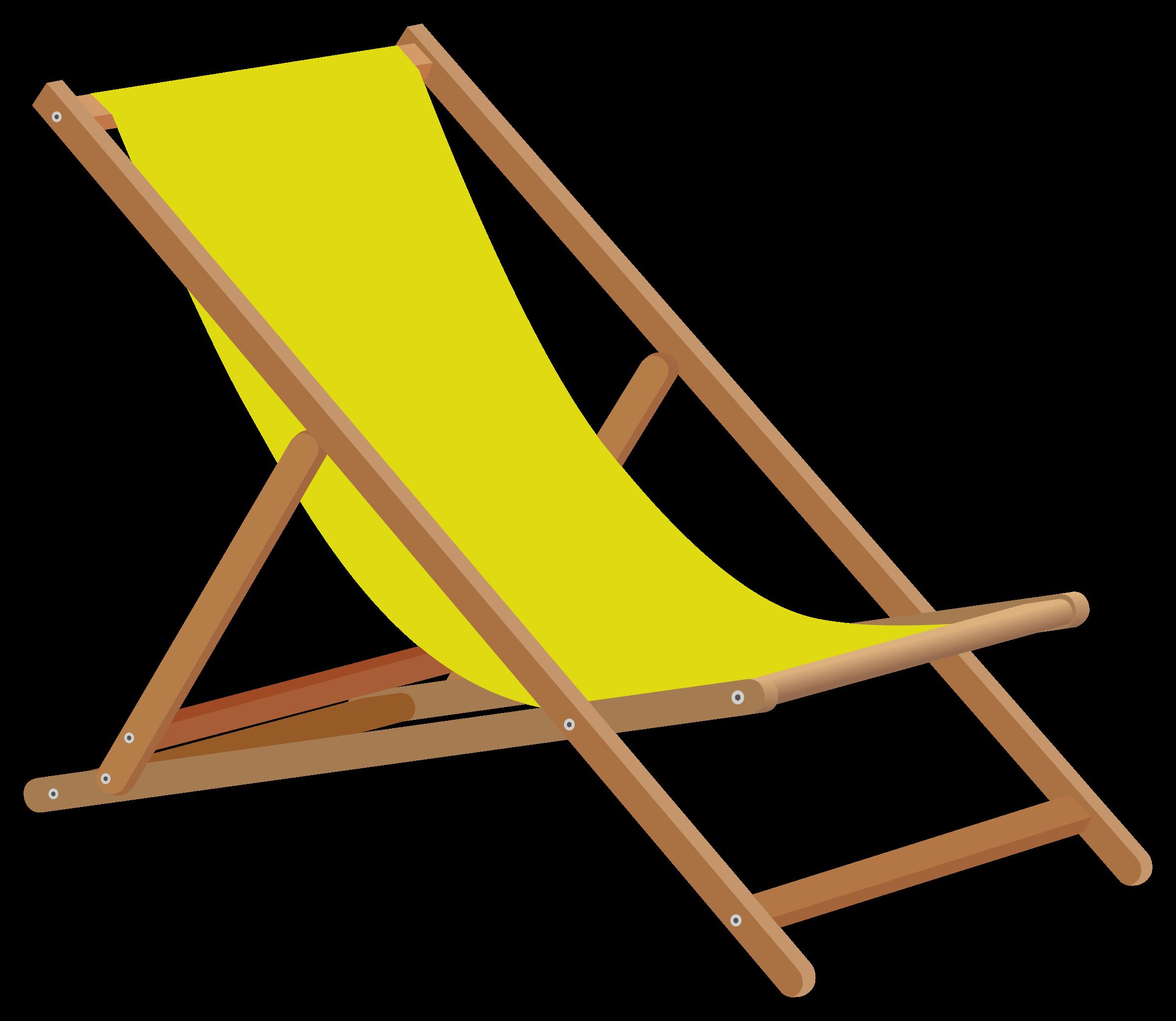 Group. Clipart chair beach