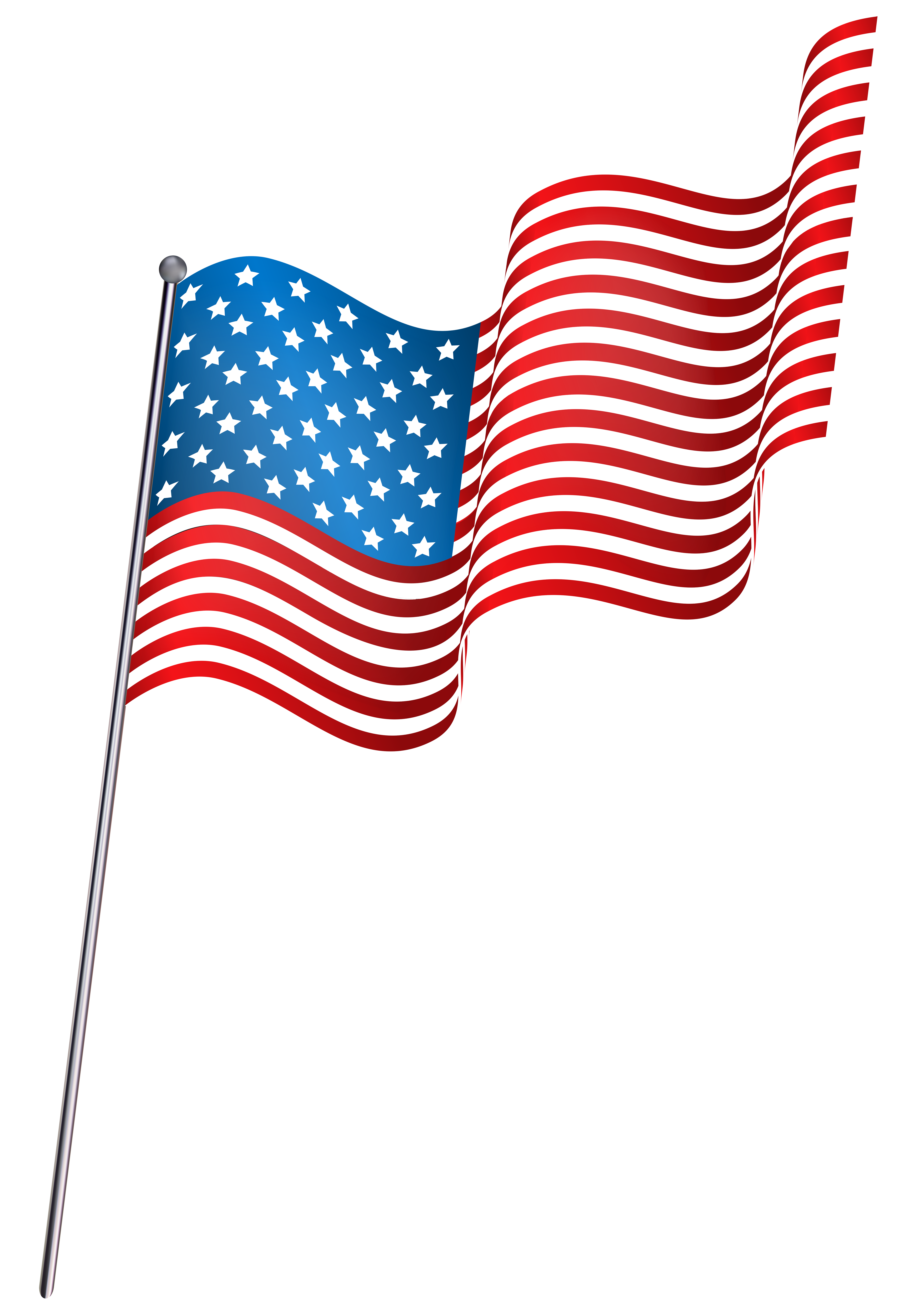 Waving png clip art. Clipart bow flag american