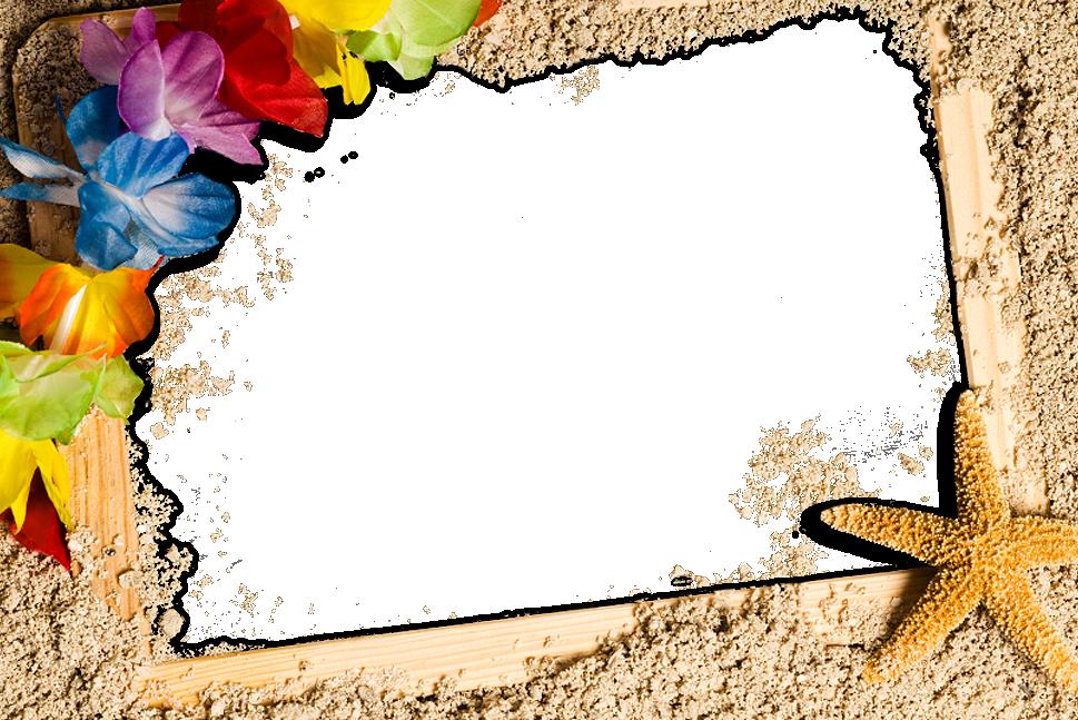 Clipart beach frame, Clipart beach frame Transparent FREE ...