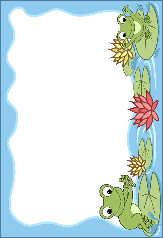 Frames clipart frog. Http www cutecolors com