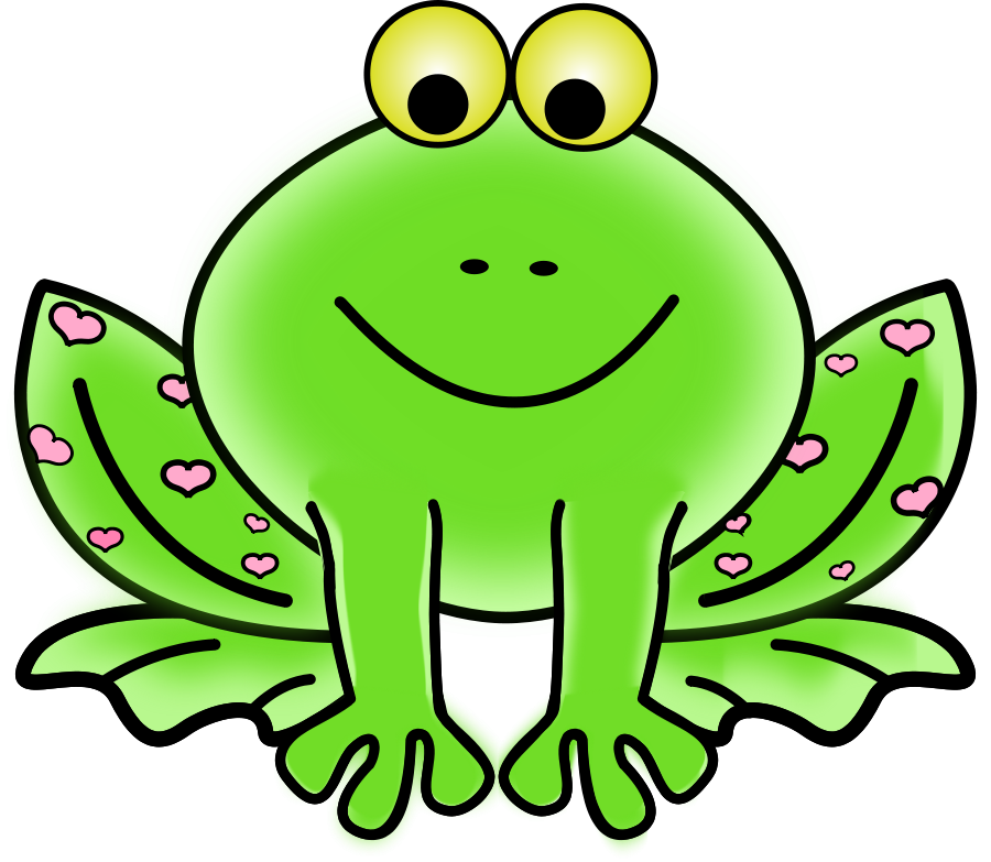 Clipart book frog. Green free download clip