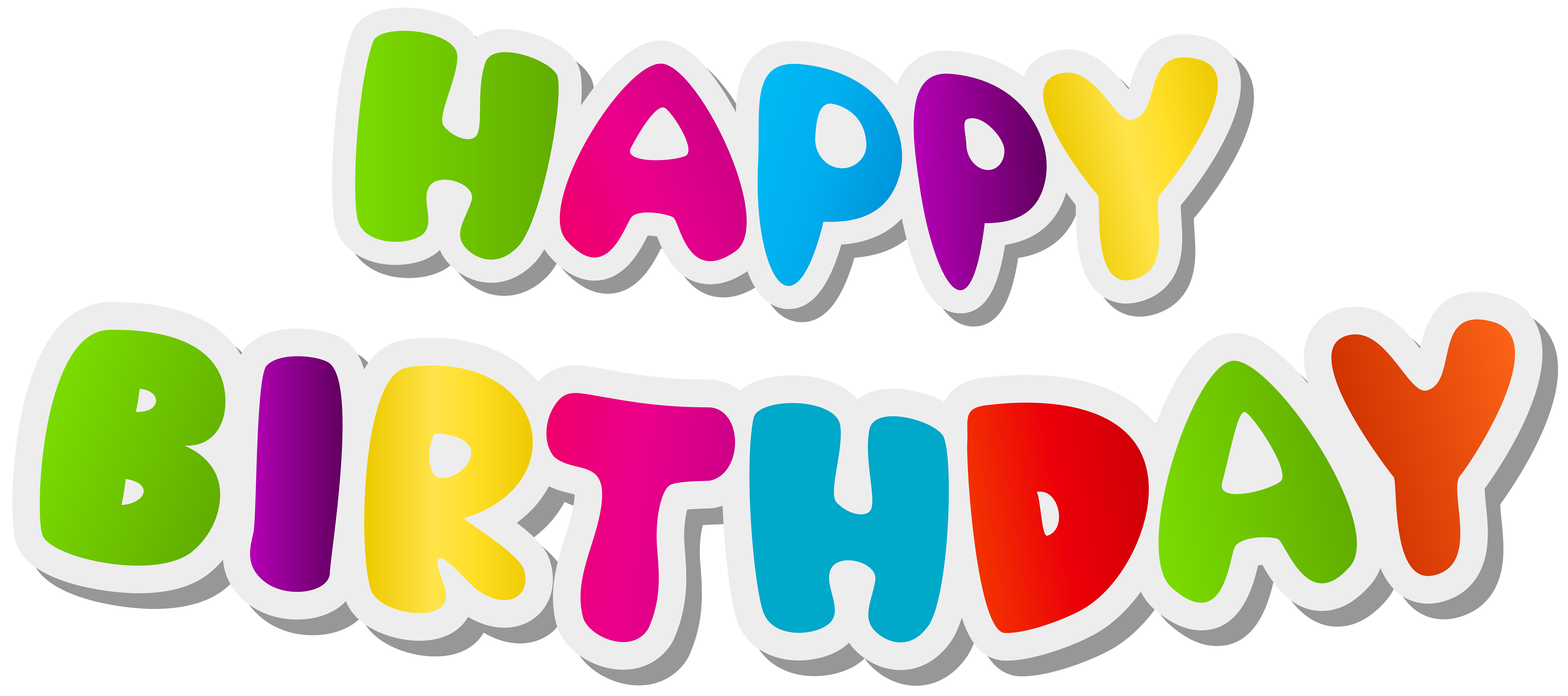 Name clipart happy birthday. Text png clip art