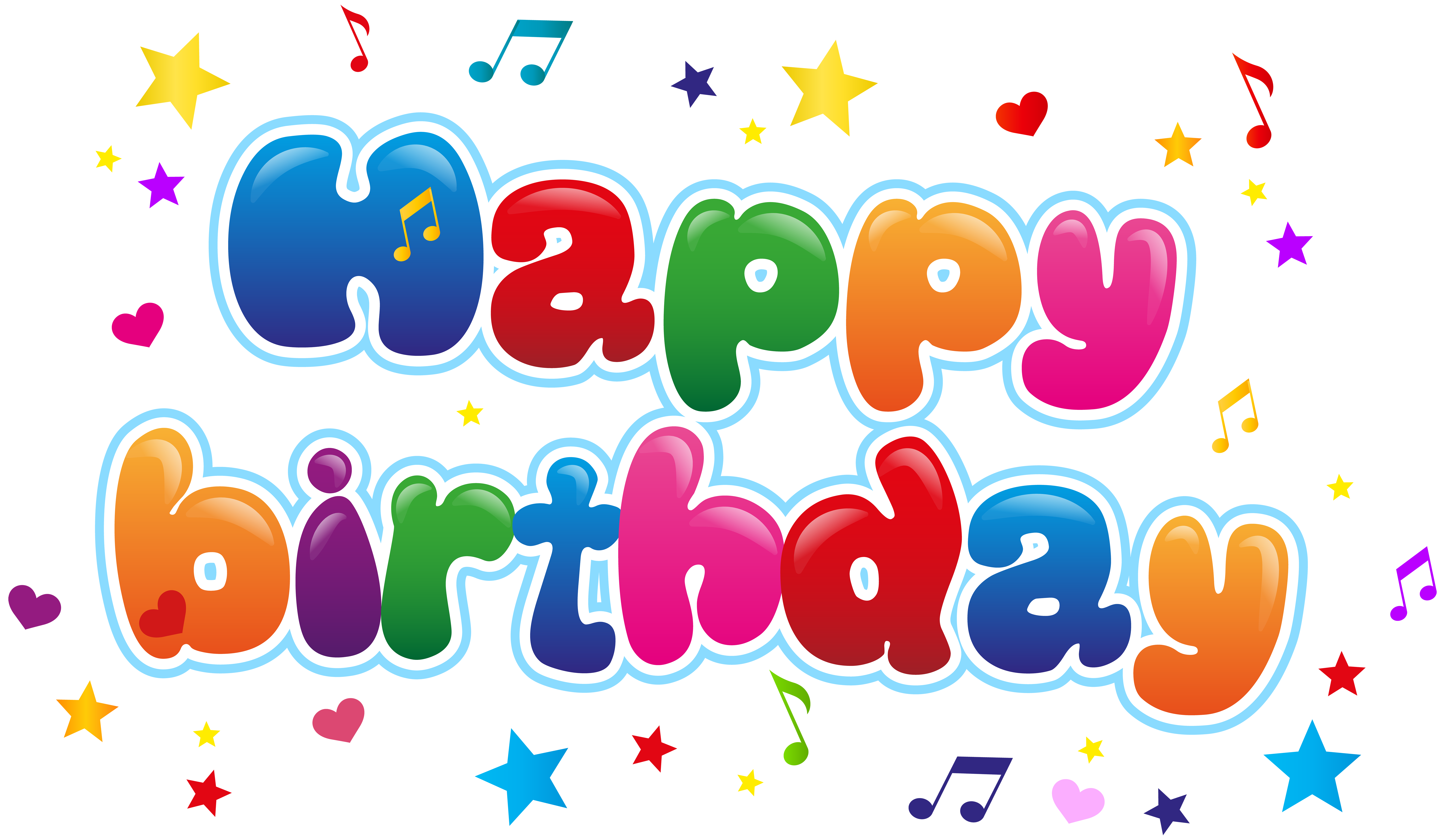Happy birthday png images. Cute clip art image