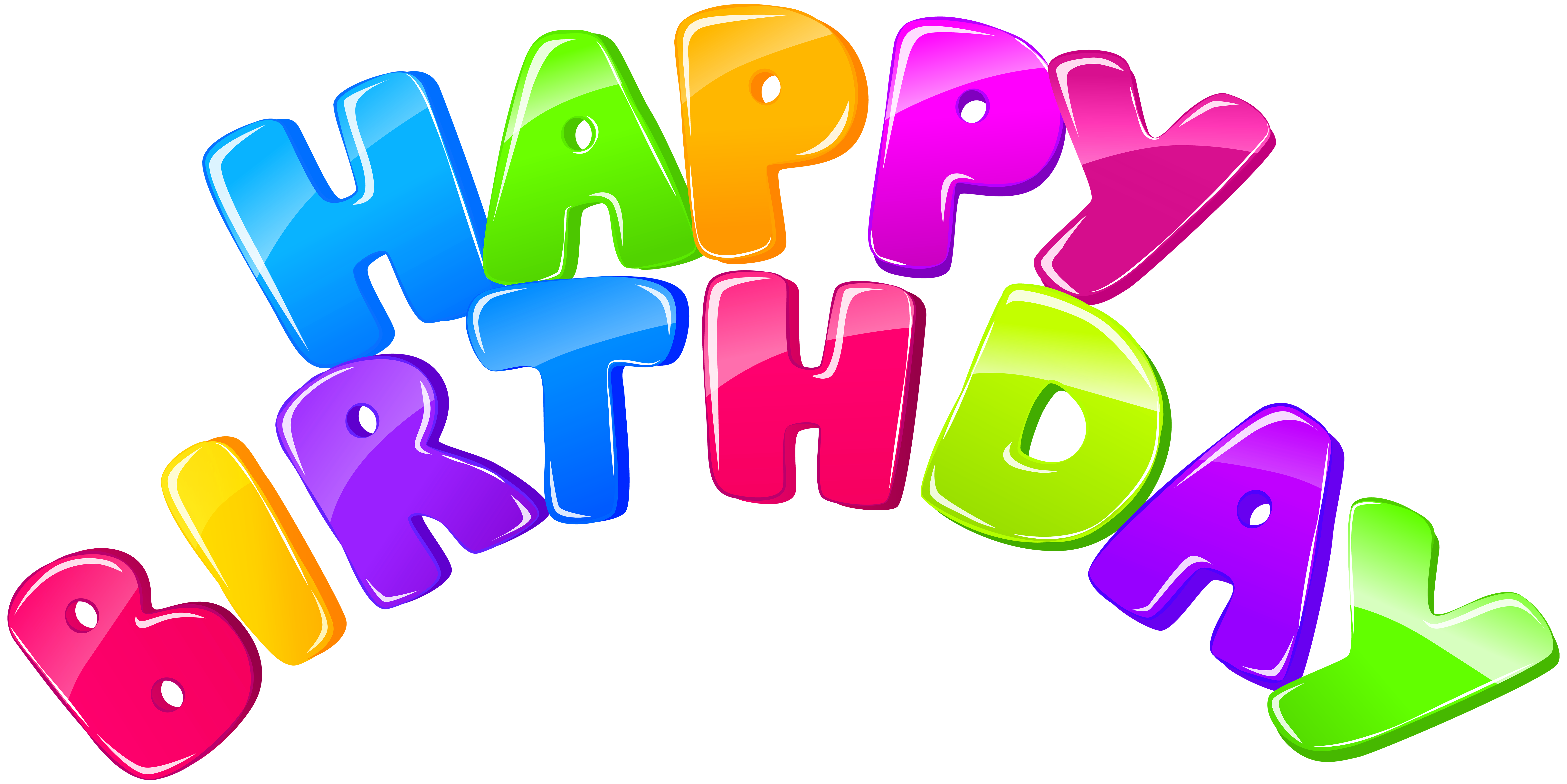 Happy clip art image. Birthday png images