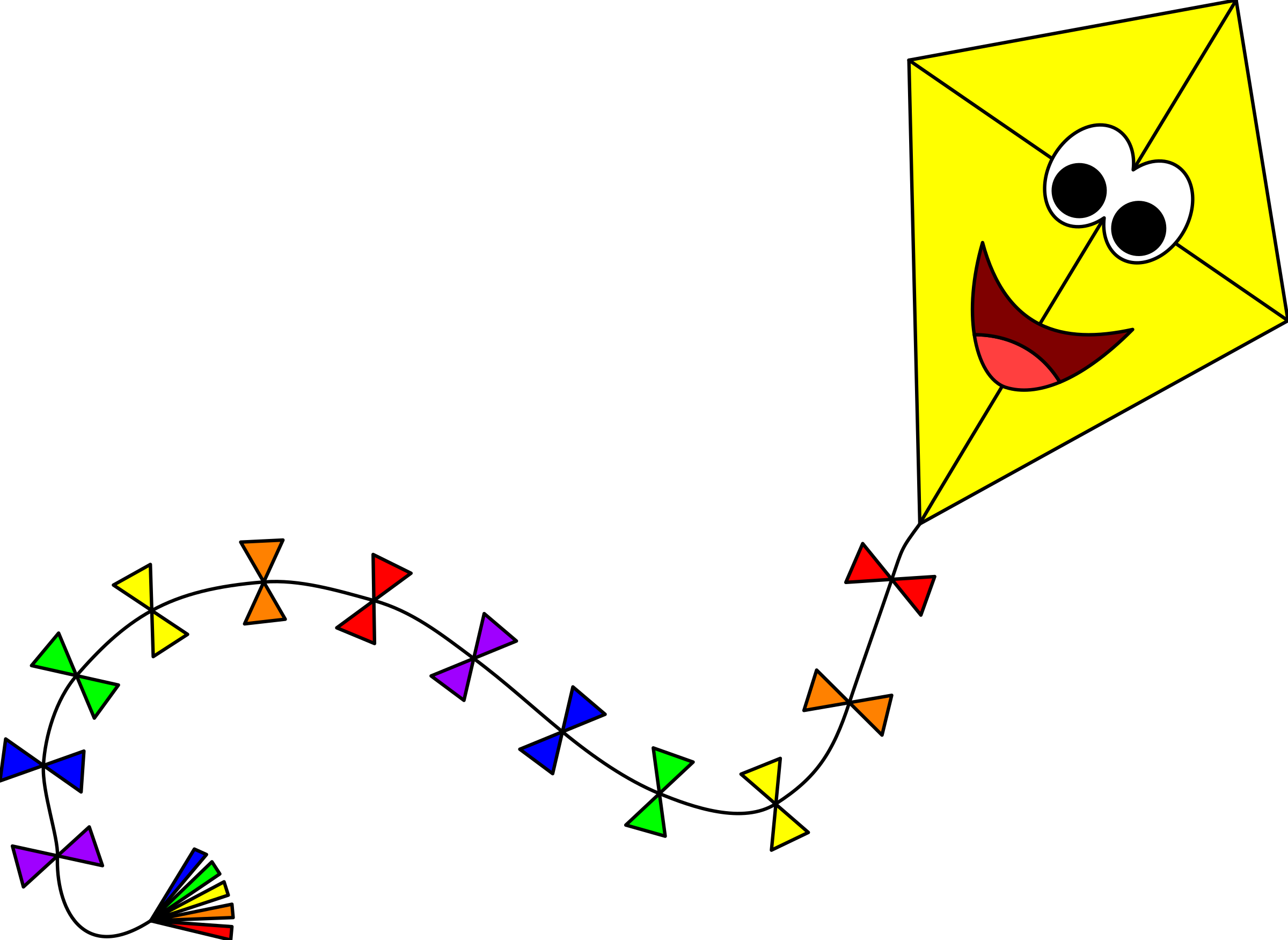 Kite clipart windy.  collection of png