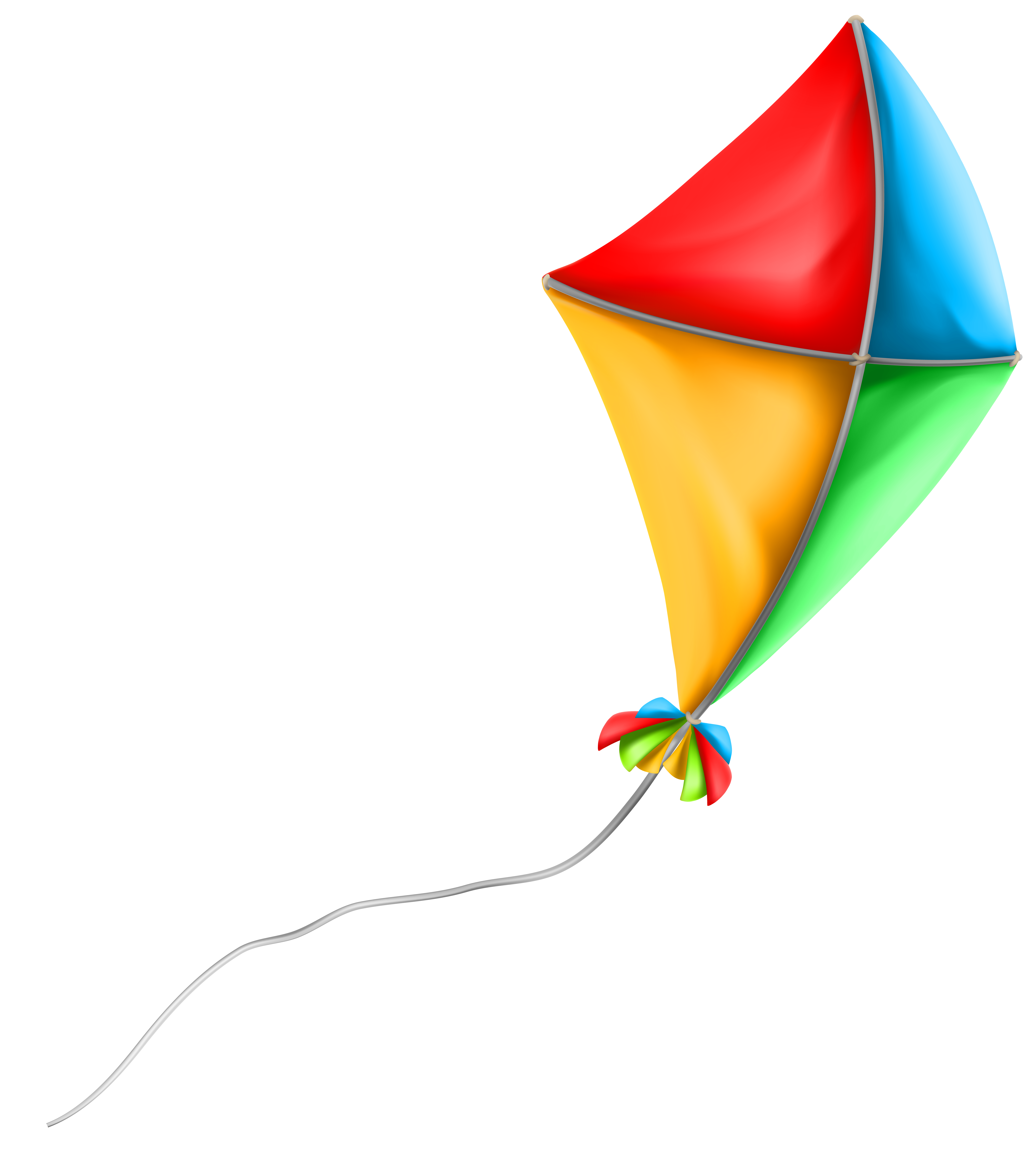 Colorful kite png clip. Pie clipart triangle