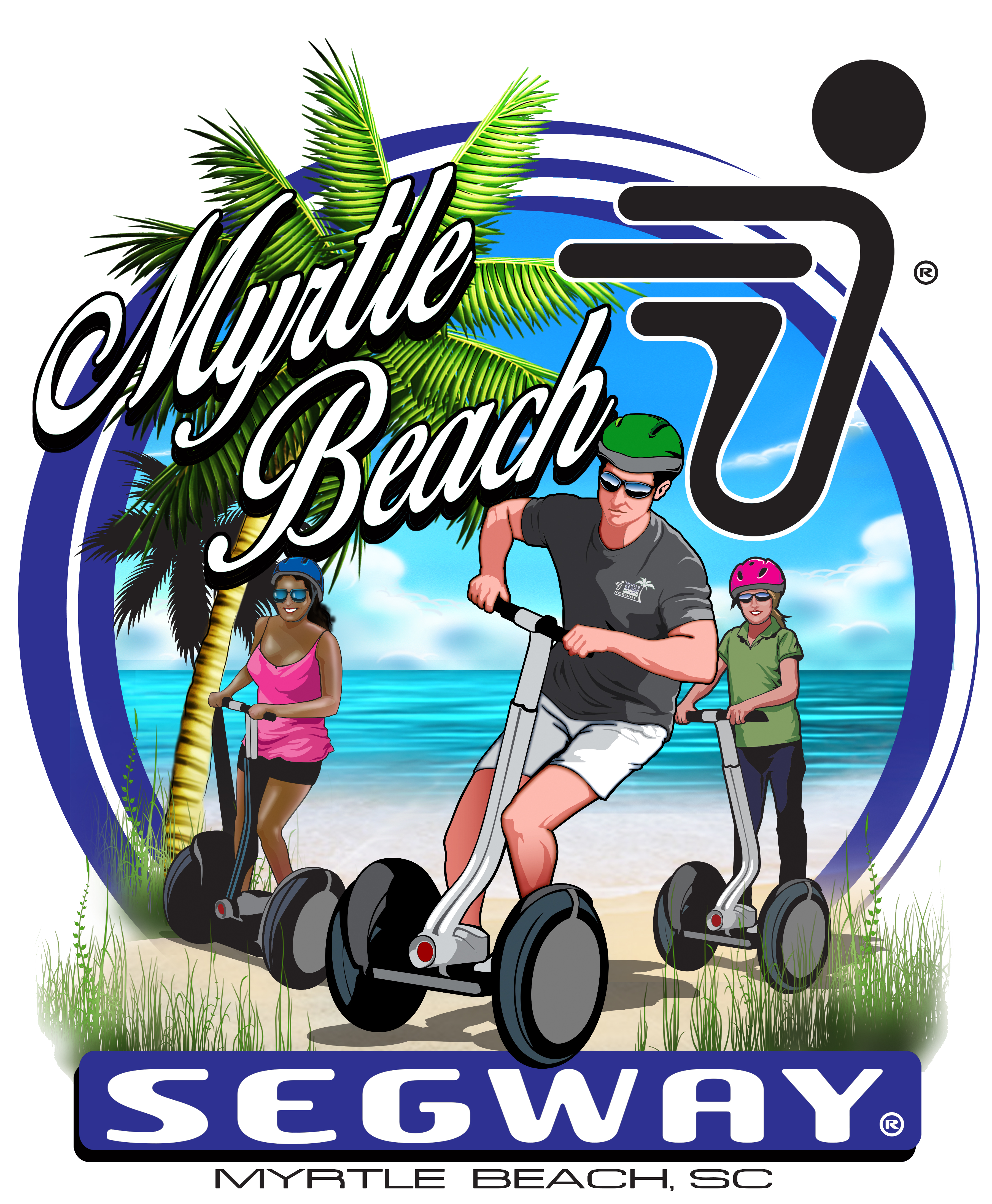 Myrtle segway tours rentals. Clipart beach outing