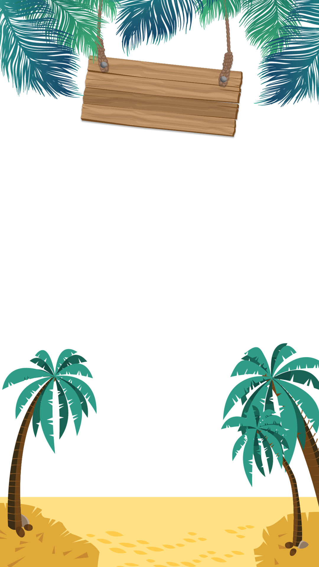Clipart beach outing. Vacation birthday snapchat filter